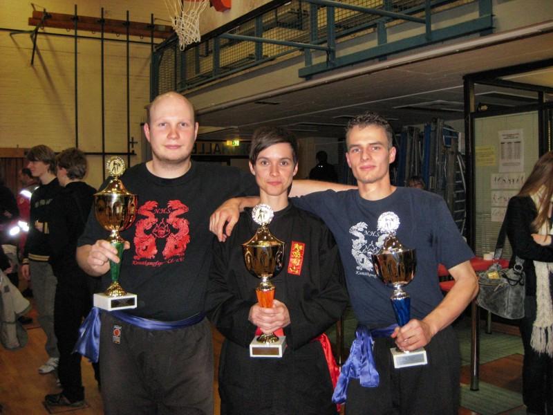Berliner Meister - Trio: Stefan Mittelstädt, Antje Becker und Martin Mittelstädt