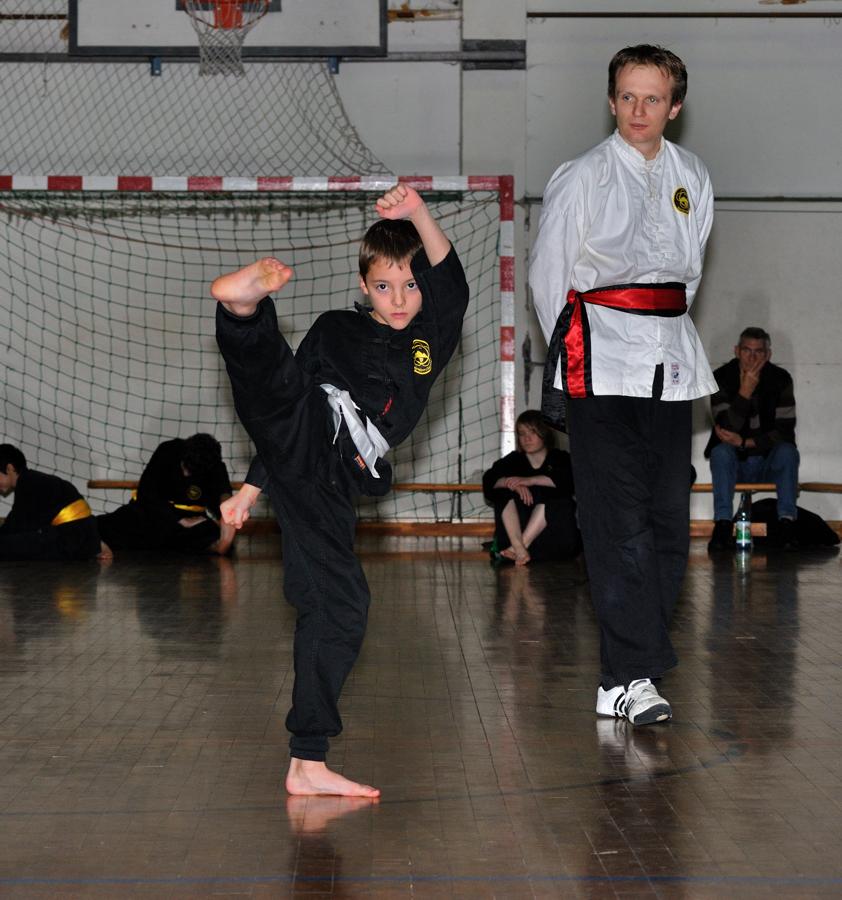 Kung Fu Prüfung 2011