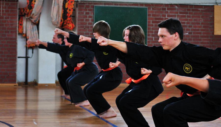 Gürtelprüfung Kung Fu Mai 2011 in Berlin