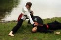 Meister Stefan und Andreas mit einer Fächerverteidigung