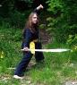 Insa mit dem Schwert