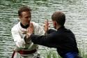 Meister Stefan und Michael bei einer Partnerübung