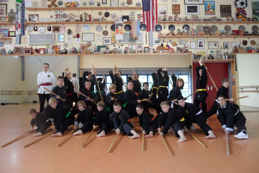 Kung Fu TL2011 Gruppenfoto Stock