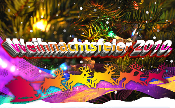 Vereins-Weihnachtsfeier 2010