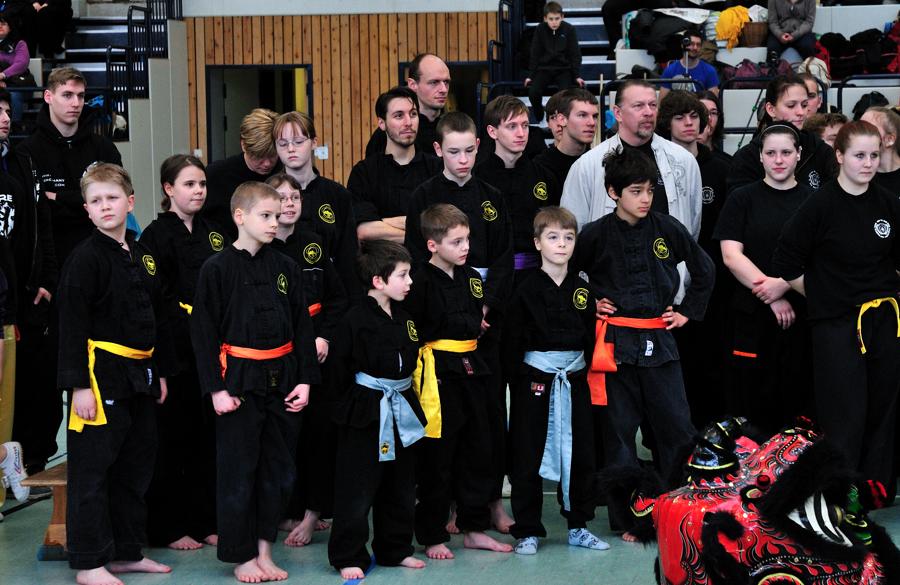Kung Fu Turnier in Kladow
