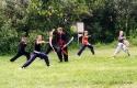 Training dritte Schwertform