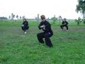 Säbelform Training in der Gruppe