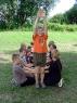 Kennenlernen und Teamarbeit der Kinder