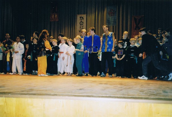 Adlershof Kampfsportfestival 1996 Gruppenfoto