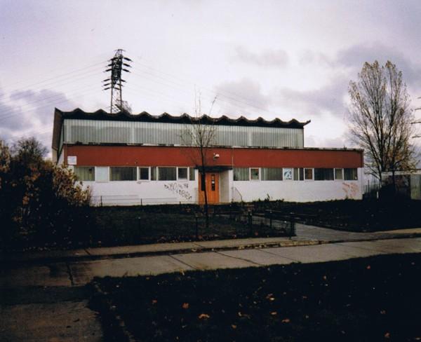 Turnhalle Dessauer Straße neunziger Jahre