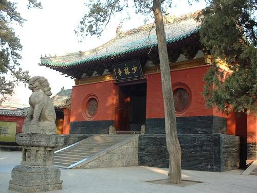 Shaolin Kloster am Berg Songshan in der Provinz Henan; Quelle: Wikipedia, GNU Lizenz