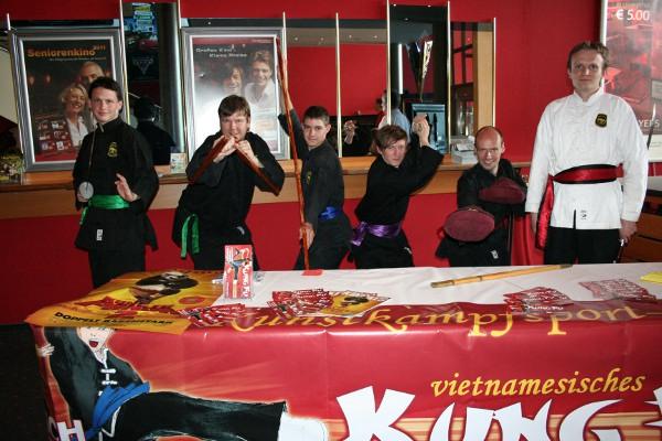 KKSC bei Kung Fu Panda 2 im Kino